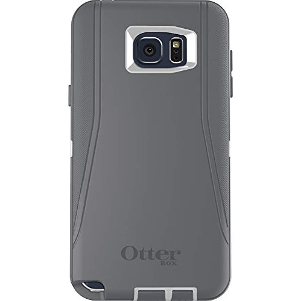 OtterBox DEFENDER Cell Phone Case for Samsung Galaxy Note 5 Grey/Sage