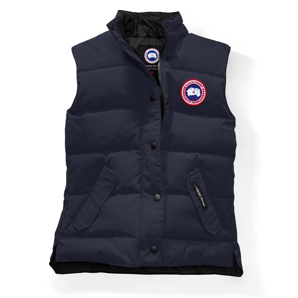 Canada Goose Freestyle Down Vest - Women's (S, Navy Blue) by goose canada (Image #1)