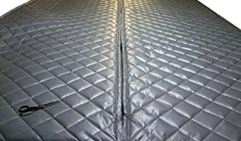 """Singer Safety Double Faced Quilted Fiberglass Panel, 4' Width x 8' Height x 2"""" Thick"""