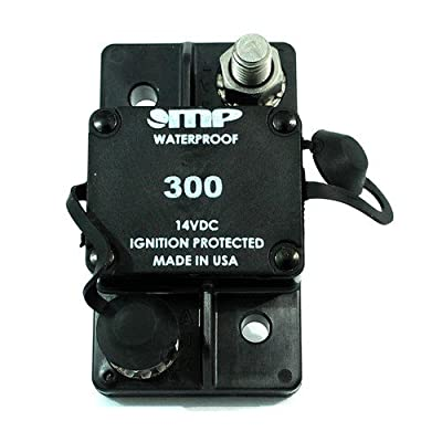 Mechanical Products 171-S2-300-2 Surface Mount Circuit Breaker 300 Amp Auto Reset 3/8 Inch Studs