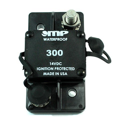 Mechanical Products 171-S2-300-2 Surface Mount Circuit Breaker 300 Amp Auto Reset 3/8 Inch Studs Mechanical Products MP