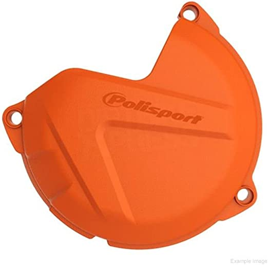 Orange Polisport 8460200002 Clutch Cover Protector