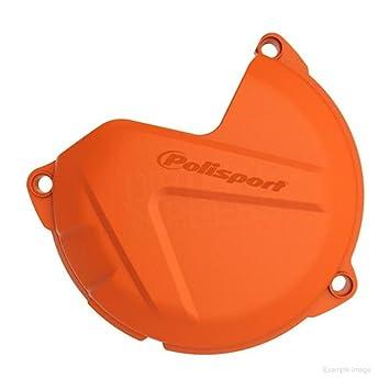 POLISPORT 8461700002 tapa del embrague pantalla - naranja: Amazon.es: Coche y moto