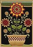 BreezeArt Primitive Sunflowers 28″ X 40″ House Flag