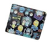 Rick and Morty TV Series Characters Logo Bi Fold WALLET