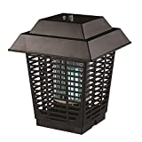 Serene Life Electric Bug Zapper, Indoor/Outdoor Electric Plug-In Pest Control, Chemical-Free Insect Killer