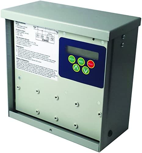 ICM Controls ICM493 Single Phase Monitor with Surge Supression,Multicolor