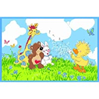 Fun Rugs Little Suzys Zoo Witzy Makes a Wish Juvenile Accent Rug, 39-Inch by 58-Inch