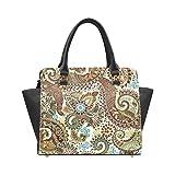 Bohemian Hippie Women's Rivet PU leather Shoulder Bag Handbag