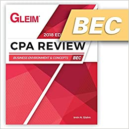 CPA Review Business 2018: Irvn N  Gleim: 9781618541482: Amazon com