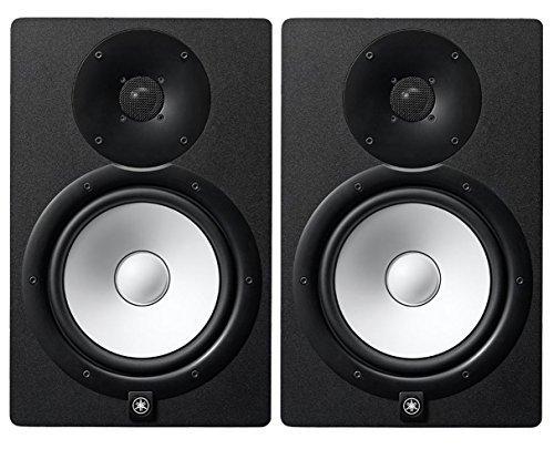 Yamaha HS8 Studio Monitor Pair + Stands + Auralex Mopads + Mogami Cables by Yamaha