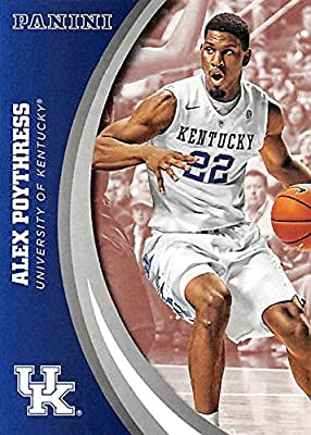Alex Poythress basketball card (Kentucky Wildcats) 2016 Panini Team Collection #32
