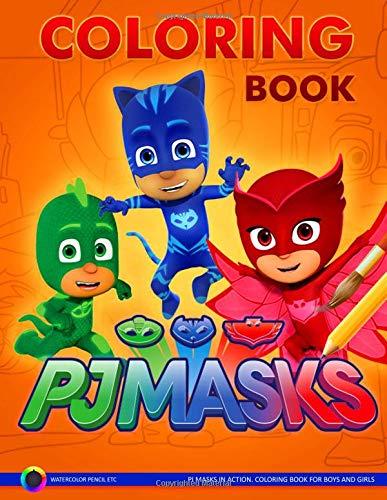 PJ Masks Coloring Book: Amazon.es: Wild, Jerry: Libros en ...