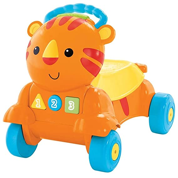Andador Primeros Pasos Correpasillos para bebé 2-en-1 Empuje ...