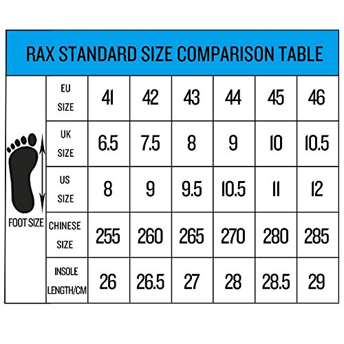 montantes pour Noir Homme Chaussures Rax q5wA01xw