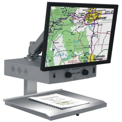 - Explorer Classic LCD CCTV Magnifier-3.5x-65x -22in