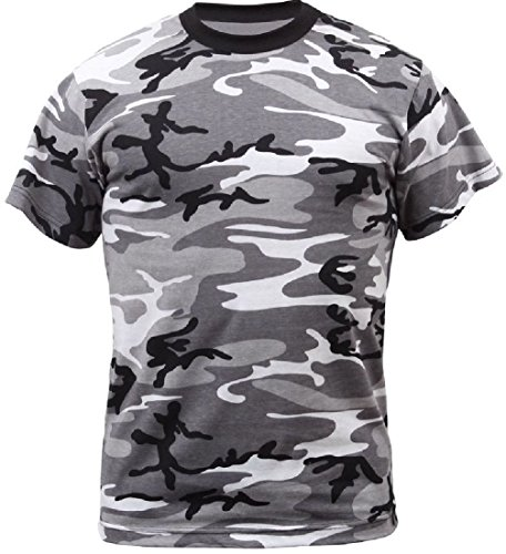 New Army Marine Navy Af Camouflage Tactical Military Short Sleeve Camo ()