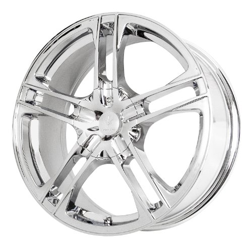 Verde Custom Wheels Protocol Chrome Wheel (17x7/5x4.5) (Alloy Rim Wheels Split)