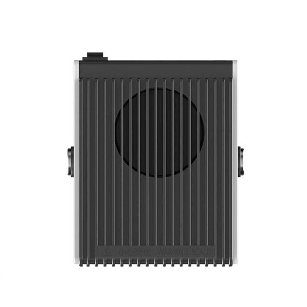 Auto Heizl/üfter 12V Tragbar Entfroster Windschutzscheibe Demister Abtauen mit schneller Erhitzung,Wenig L/ärm,180/°Drehung 2 in 1 Auto Heizung /& K/ühlventilator einstecken in zigarettenanz/ünder