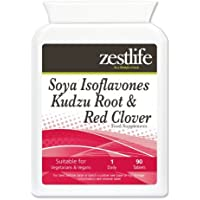 Zestlife soia Isoflavoni radice di Kudzu & Red Clover - 90 Compresse