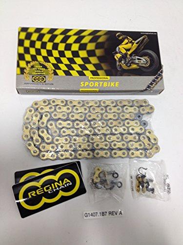 (EBR Erik Buell Racing 1190SX 1190RX Regina MOTORCYCLE DRIVE CHAIN, W/MASTER LINK - G1407.1B7 Rev A)