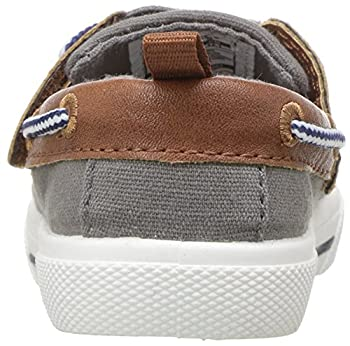 Carter's Boys' Cosmo Casual Slip-on Sneaker, Grey, 9 M Us Toddler 1