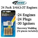 Estes 1/4A3-3T Model Rocket Engines (24 each)
