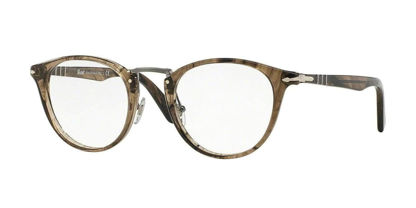 4f7c229519457 Persol Eyeglasses PO3107V 1019 Striped Beibe 47 22 145 at Amazon Men s  Clothing store