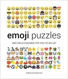Emoji Puzzles Amazon Co Uk Malcolm Croft 9781853759680 Books
