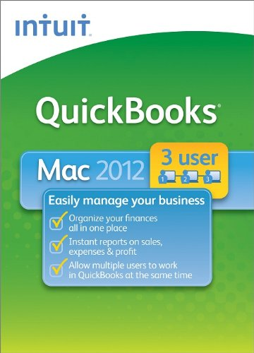 QuickBooks 2012 for Mac 3-User [Download] [OLD VERSION]