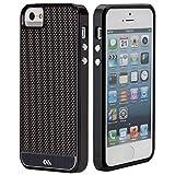 Case-Mate Carbon Fiber Case for Apple iPhone 5/5S - Retail Packaging - Black