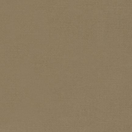 Robert Kaufman Kaufman Essex Yarn Dyed Linen Blend Taupe Fabric by The Yard, Muted Black