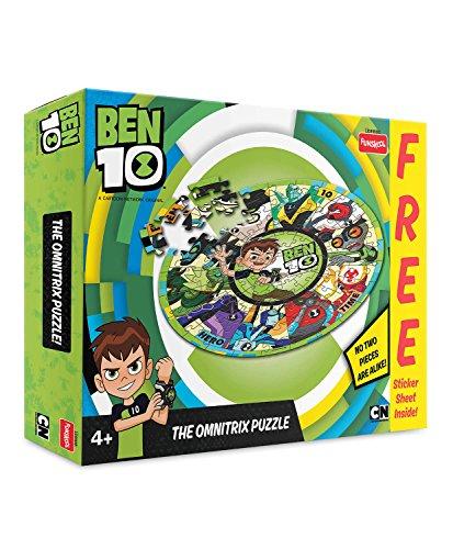 Ben 10 Ben10 Puzzle , 2 Piece, Green