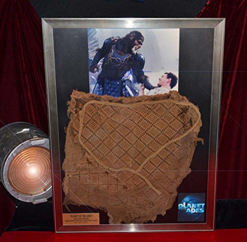 SCREEN USED Planet of Apes PROP COSTUME, Mark Wahlberg signed Autograph, COMIC, COA UACC -