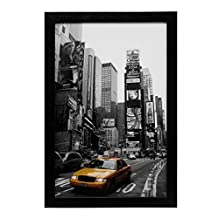 MeiC Picture Photo Frames 11x17 Inch for Wall Table Decoration Black