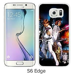 YTSStar Wars For Samsung Galaxy S6 Edge White Case Cover