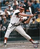 #4: Boog Powell Baltimore Orioles Autographed 8