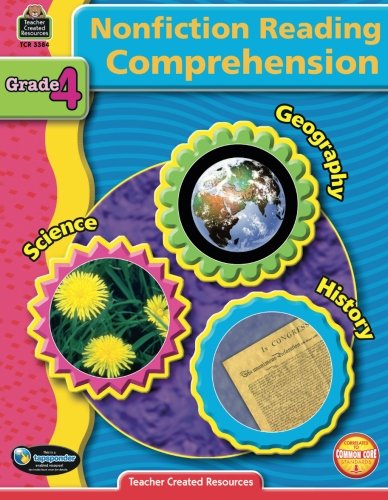 Nonfiction Reading Comprehension Grade 4 (Reading Comprehension Grade 4)