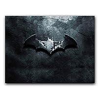 Placa Decorativa MDF Ambientes 20 cm x 30 cm - Batman (BD11)
