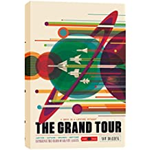 "Epic Graffiti EPIC-CA1218182 ""Visions of The Future:The Grand Tour"" Giclee Canvas Wall Art, 12"" X 18"" ""Visions of The Future:The Grand Tour"" 12"" X 18"",Multi"