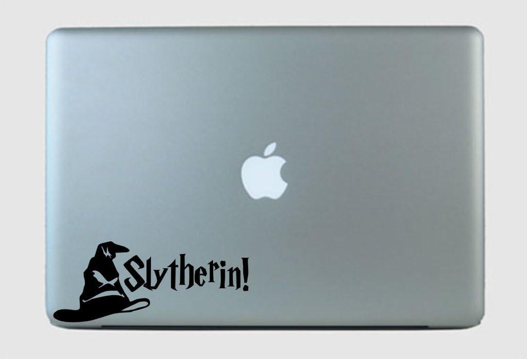 SimplyVinylized Harry Potter Inspired Slytherin! Sorting Hat Vinyl Decal Sticker Green