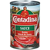 Contadina Extra Thick & Zesty Tomato Sauce 15OZ (Pack of 12)