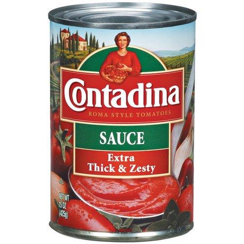 Contadina Extra Thick & Zesty Tomato Sauce 15OZ (Pack of 12)