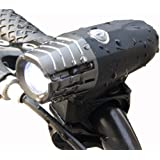 Rechargeable Bike Light – Super Bright Front Light , Splash-proof and Easy to Install & Remove for Safe Cycling