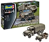 truck 1 35 - Revell 03260 - M34 Tactical Truck & Off Road Vehicle 1: 35 Scale Model Kit