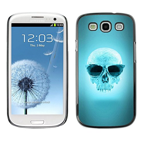 Smartphone Hard PC Case Protective Cover for Samsung Galaxy S3 / Phone Case TECELL Store / Cool Blue Sunglasses - Stores Local Sunglasses