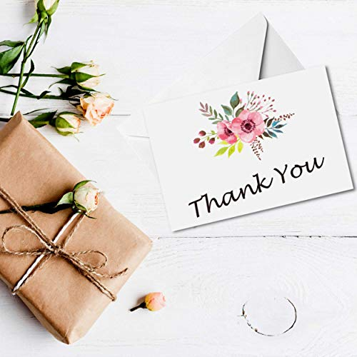 thank you cards and envelopes