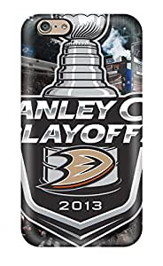 Ultra Slim Fit Hard DanRobertse Case Cover Specially Made For Iphone 6- Anaheim Ducks (83)