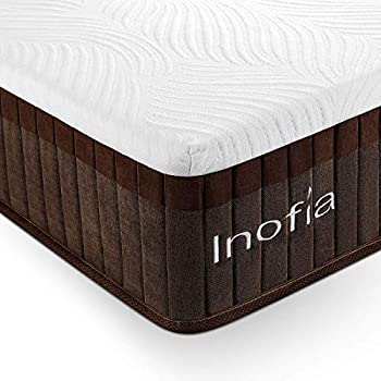 Amazon Com Inofia Queen Mattress Bed In A Box Sleeps Cooler With More Pressure Relief