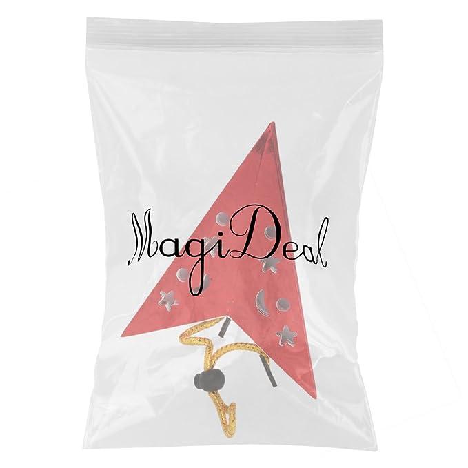 1x Lampenschirm Hängen Papierstern mit funkelnden dekorativen Stil 40cm Rosa